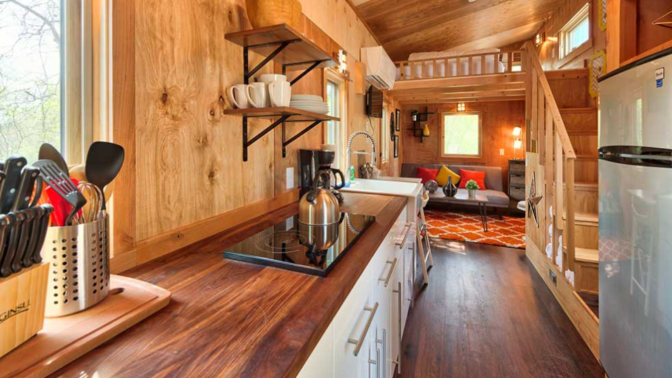 Tumbleweed Interior, tiny house design
